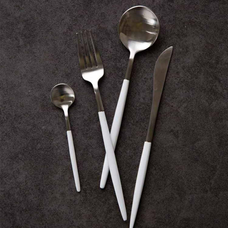 ROXY® Modern 24 Piece Flatware Set