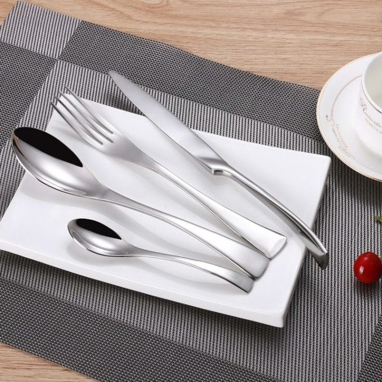 Luxury Silver Flatware Set