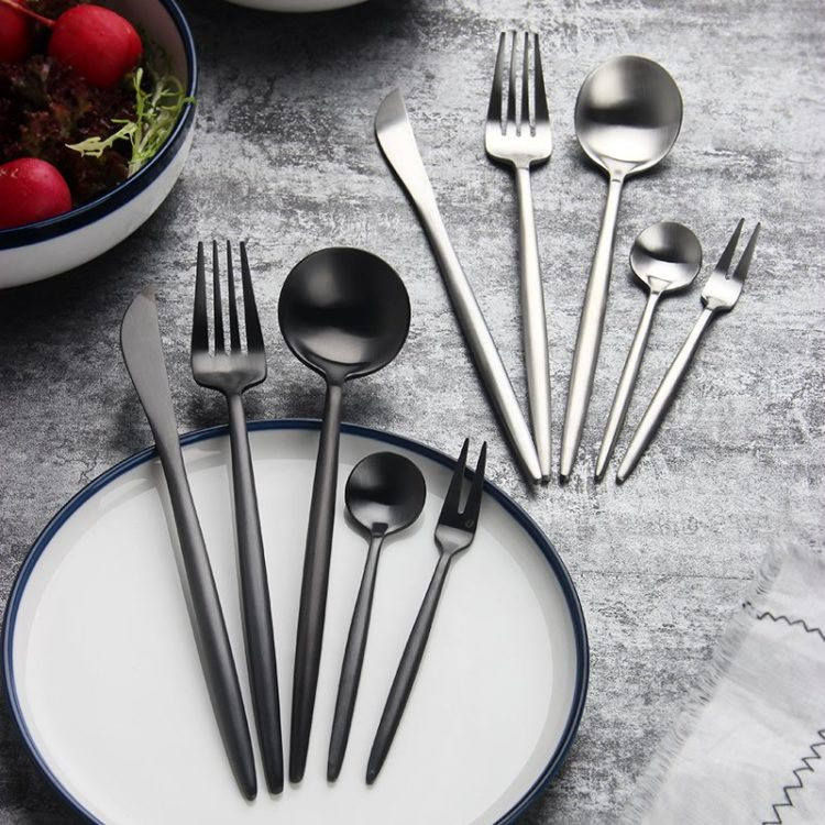 JOMU® Modern 24 Piece Flatware Set