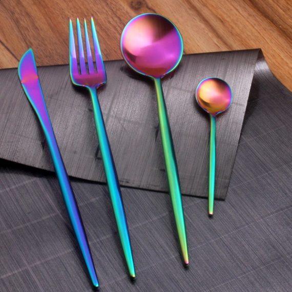 LONGWELL® Rainbow 4 Piece Cutlery Set