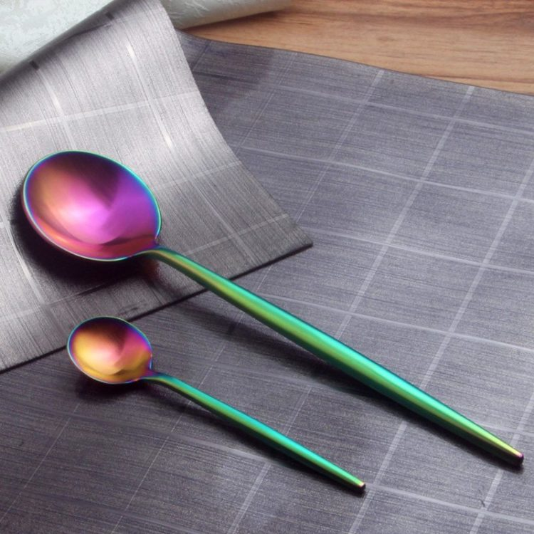 LONGWELL® Rainbow 4 Piece Cutlery Set