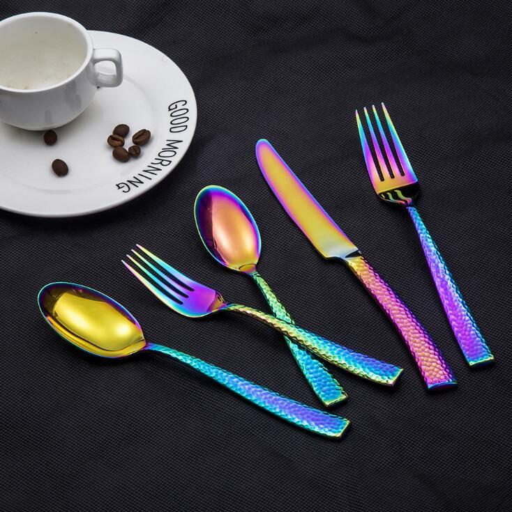 Kapro® 30 Piece Flatware Set - 5 Colors