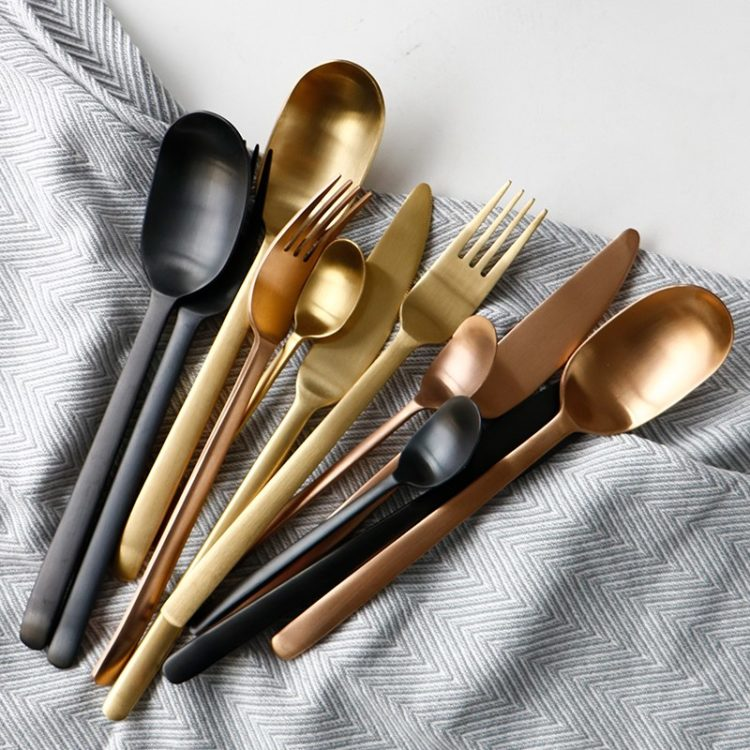 Sheskin® 24 Piece Flatware Set - 4 Colors
