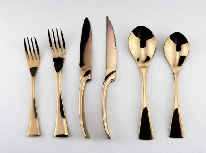 Buy Rose Gold Flatware